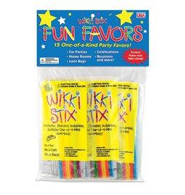 Wikki Stix Wikki Stix Party Favor Pak (15 packs of 12 stix each)