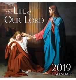 Tan Books 2019 The Life of Our Lord Wall Calendar