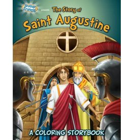 Herald Kids The Story of Saint Augustine: A Coloring Storybook