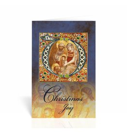 "WJ Hirten ""Christmas Joy"" Nativity Icon Christmas Card"
