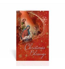 "WJ Hirten ""Christmas Blessings"" Nativity Christmas Card"