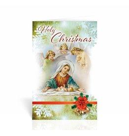 "WJ Hirten ""Holy Christmas"" Nativity Christmas Card"