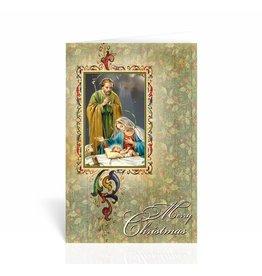 "WJ Hirten ""Merry Christmas"" Nativity Christmas Card"
