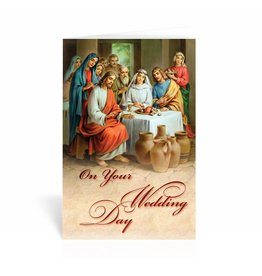 "WJ Hirten ""On Your Wedding Day"" Wedding at Cana Greeting Card"