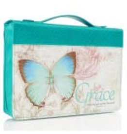 Christian Art and Gifts Grace Butterfly Bible Cover Medium