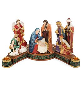 Avalon Gallery Nativity Advent Candle Holder