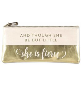 "Peter Pauper Press ""Although She Be But Little She is Fierce"" Pencil Holder"
