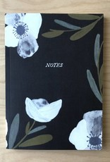 Pen+Pillar Journal - Black Floral