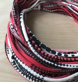 Necklush Scarf- Red Multi