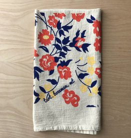 Tea Towel- Vintage Floral