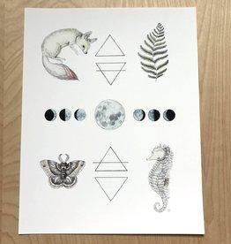 Marika Paz Illustrations Print- Alchemy Elements
