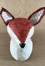Blue Rooster Arts Paper Mache Fox