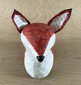 Blue Rooster Arts Paper Mache Fox