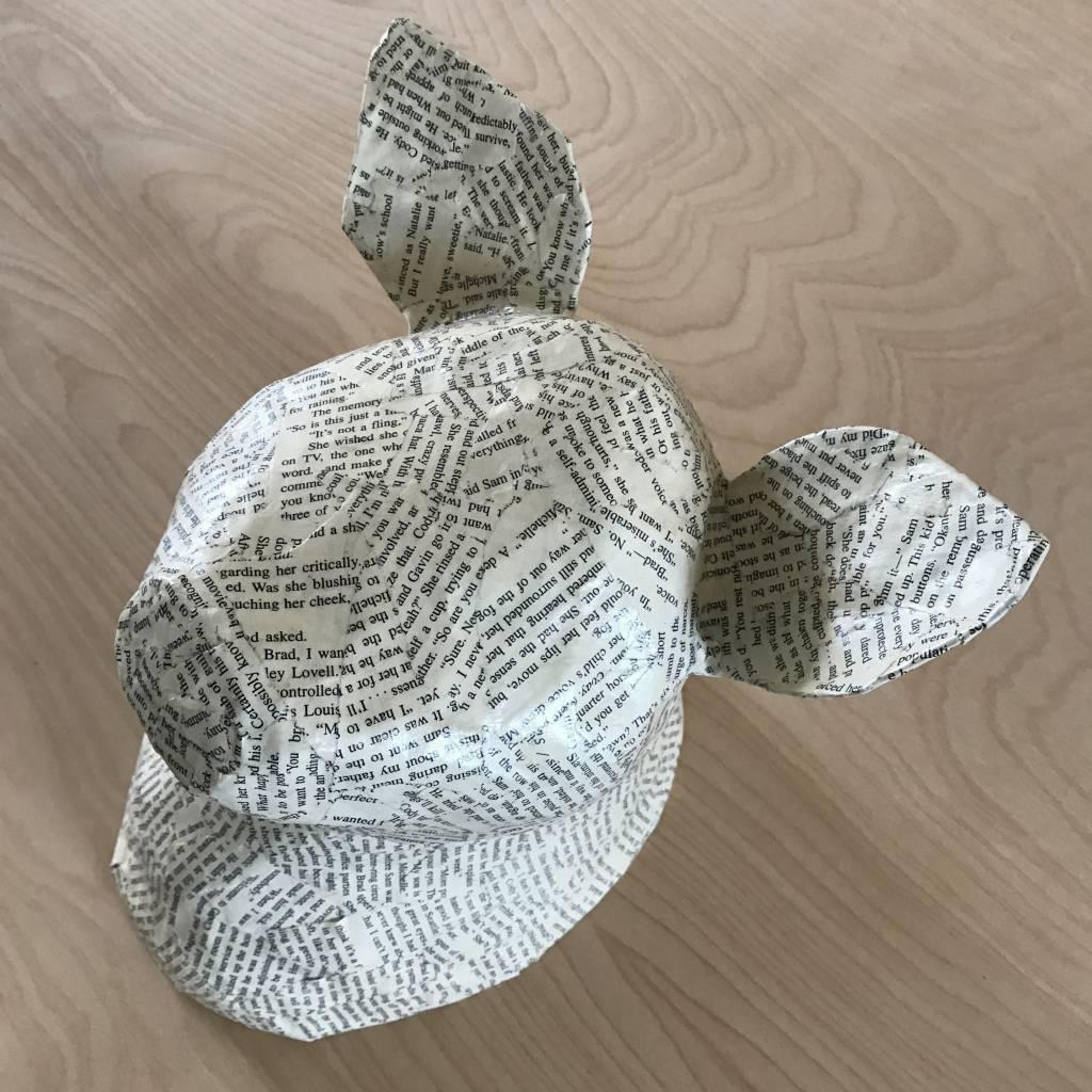 Blue Rooster Arts Paper Mache Pig
