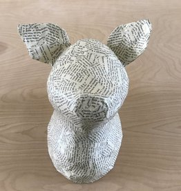 Blue Rooster Arts Paper Mache Pig
