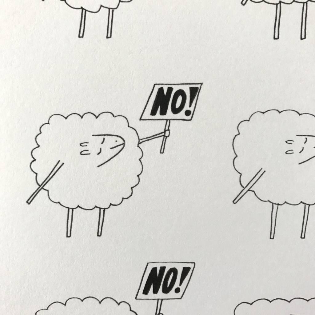 "Black Sheep 8"" x 10"" Print"