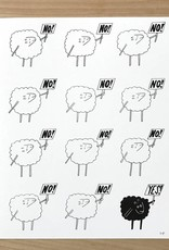 "Print- Black Sheep 8"" x 10"""