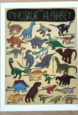 "The Dinosaur Alphabet 9"" x 12"" Print"