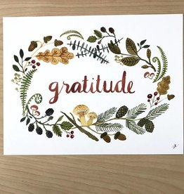 Little Truths Print- Gratitude Art  8 1/2 x 11