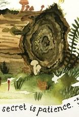 Little Truths Nurse Log Art Print, 8 1/2 x 11
