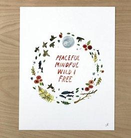 Little Truths Peaceful Art Print 8 1/2 x 11
