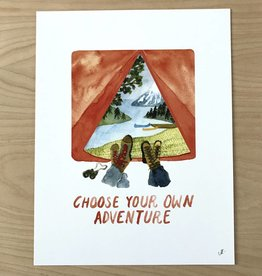 Little Truths Choose Your Own Adventure Art Print,8 1/2 x 11