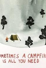 Little Truths Print- Campfire Art, 8 1/2 x 11