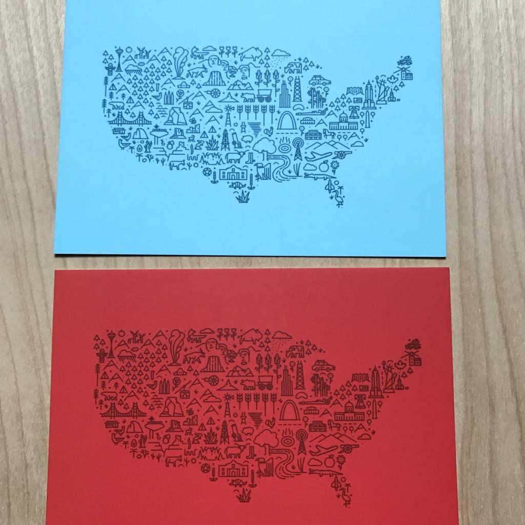 Fell Postcard Pack - 5 National Park Postcards