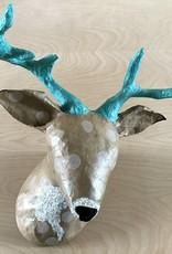 Blue Rooster Arts Paper Mache Deer