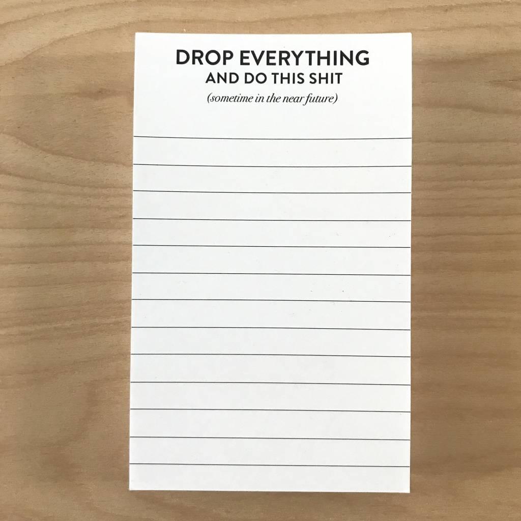 Sugar & Type Mini Notepad - Drop Everything