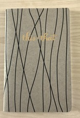 Sugar & Type Notebook- Gold Foil Brush
