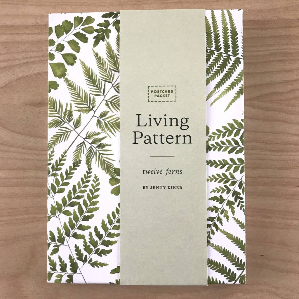 Living Pattern Watercolor Postcards- Set of 24