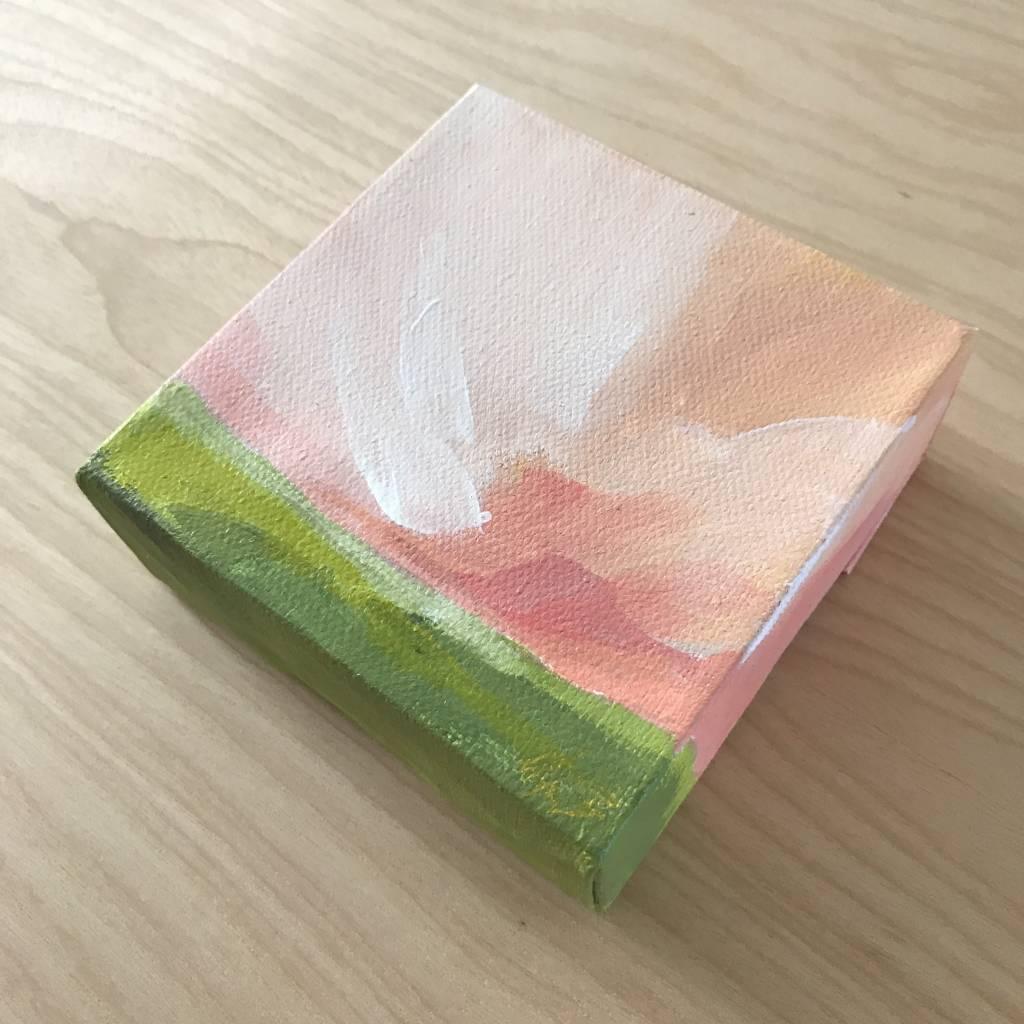 Mya Bessette Mixed 4x4 Canvas- #3