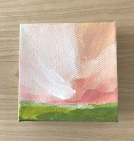 Mya Bessette Mixed 4x4 Canvas- #3