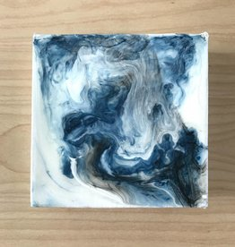 Mya Bessette Mixed 4x4 Canvas- #7