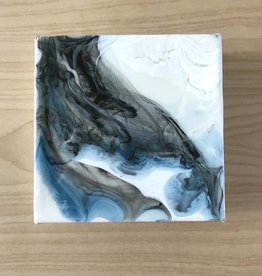 Mya Bessette Mixed 4x4 Canvas- #8