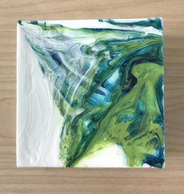 Mya Bessette Mixed 4x4 Canvas- #10