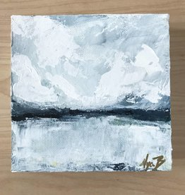 Mya Bessette Mixed 6x6 Canvas- #4
