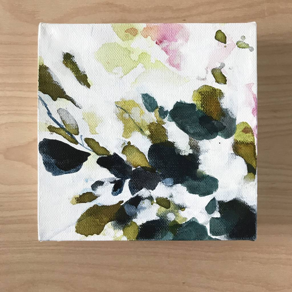 Mya Bessette Mixed 6x6 Canvas- #5