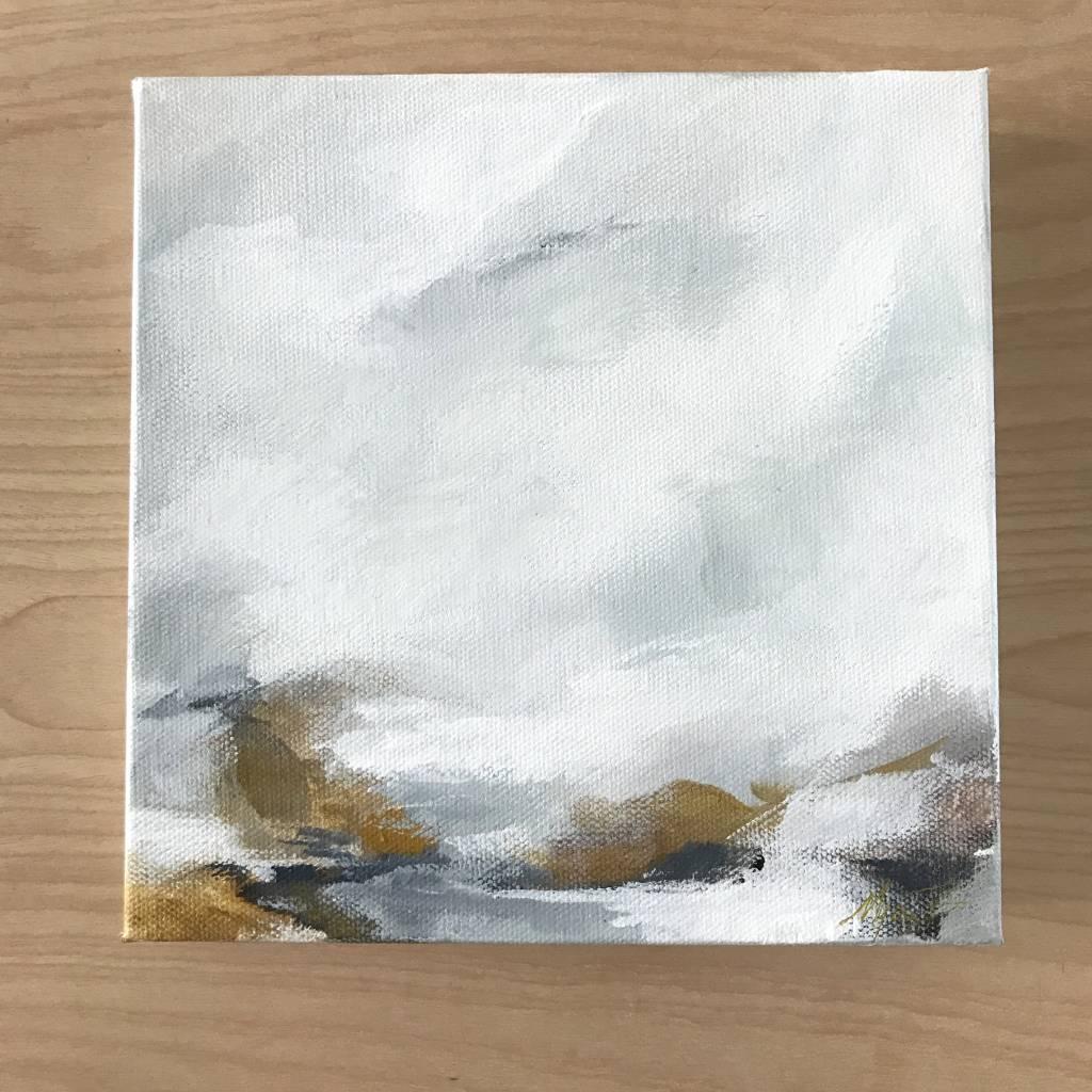 Mya Bessette Mixed 8x8 Canvas- #5