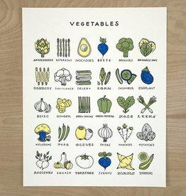 Worthwile Paper Print- Veggies 16x20