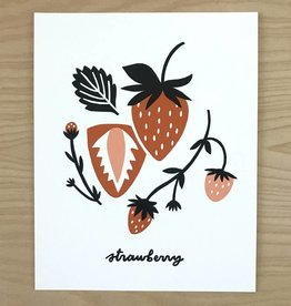 Worthwile Paper Print- Strawberry 8x10
