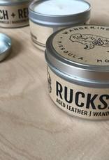 Wandering Bison Wax Co. Candle- Rucksack New 8oz