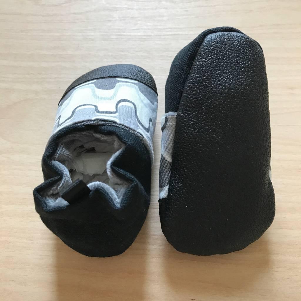 Crawler Booties- Zippers