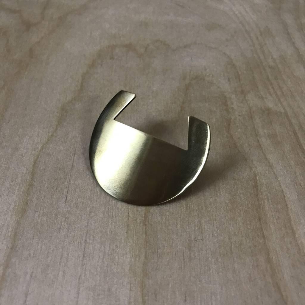 Hair Clip- Circle Barrette