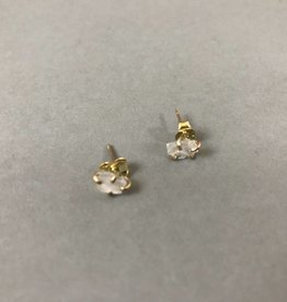 Earring- Rose Quartz Studs