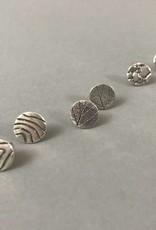 Stud Earring - Lines