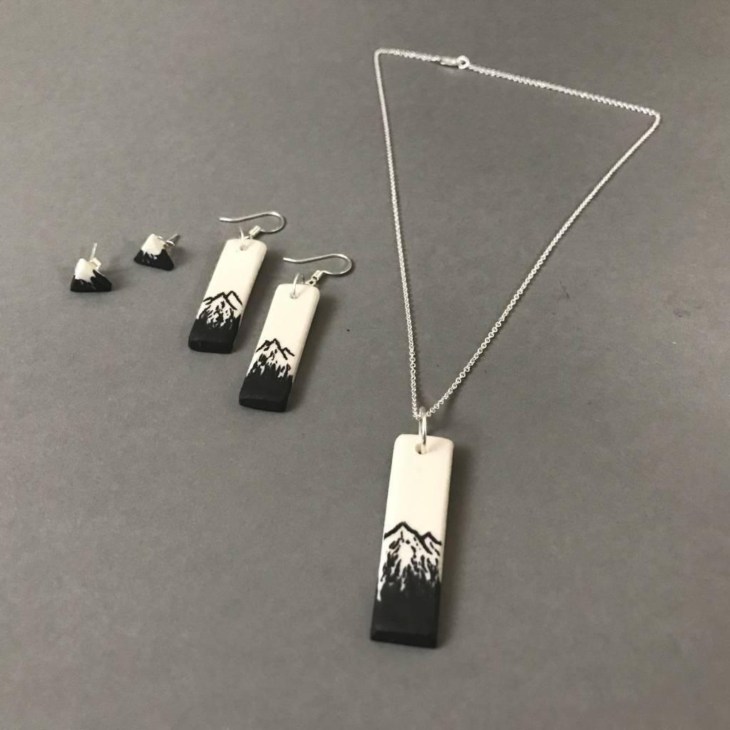 Earring - Mini Mountain Stud