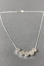 Necklace- Dots, Silver