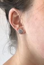 Stud Earring - Leaf